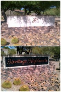 HOA Property Sign