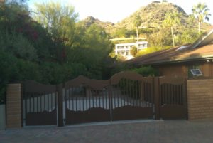 driveways gates scottsdale