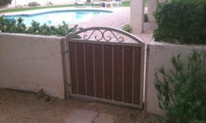 Yard Gate Composite Design