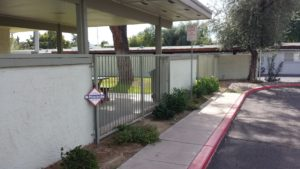 HOA Pool Fence