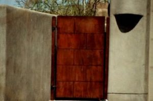 Yard Gate Solid Design