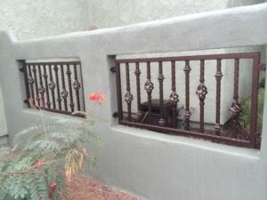 wall insert railing