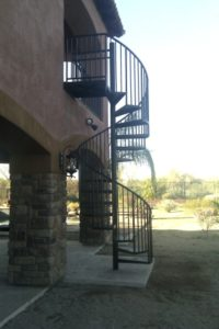 steel staircase scottsdale